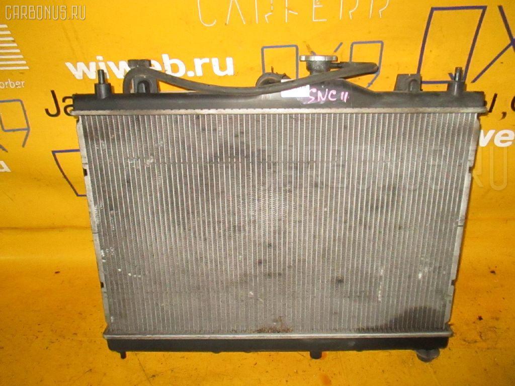 Радиатор ДВС NISSAN TIIDA LATIO SNC11 HR15DE. Фото 1
