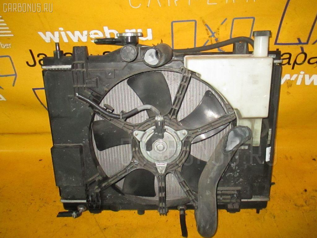 Радиатор ДВС NISSAN TIIDA LATIO SNC11 HR15DE. Фото 2