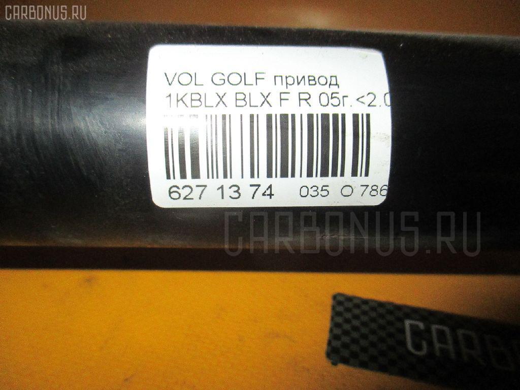 Привод VOLKSWAGEN GOLF V 1KBLX BLX Фото 2