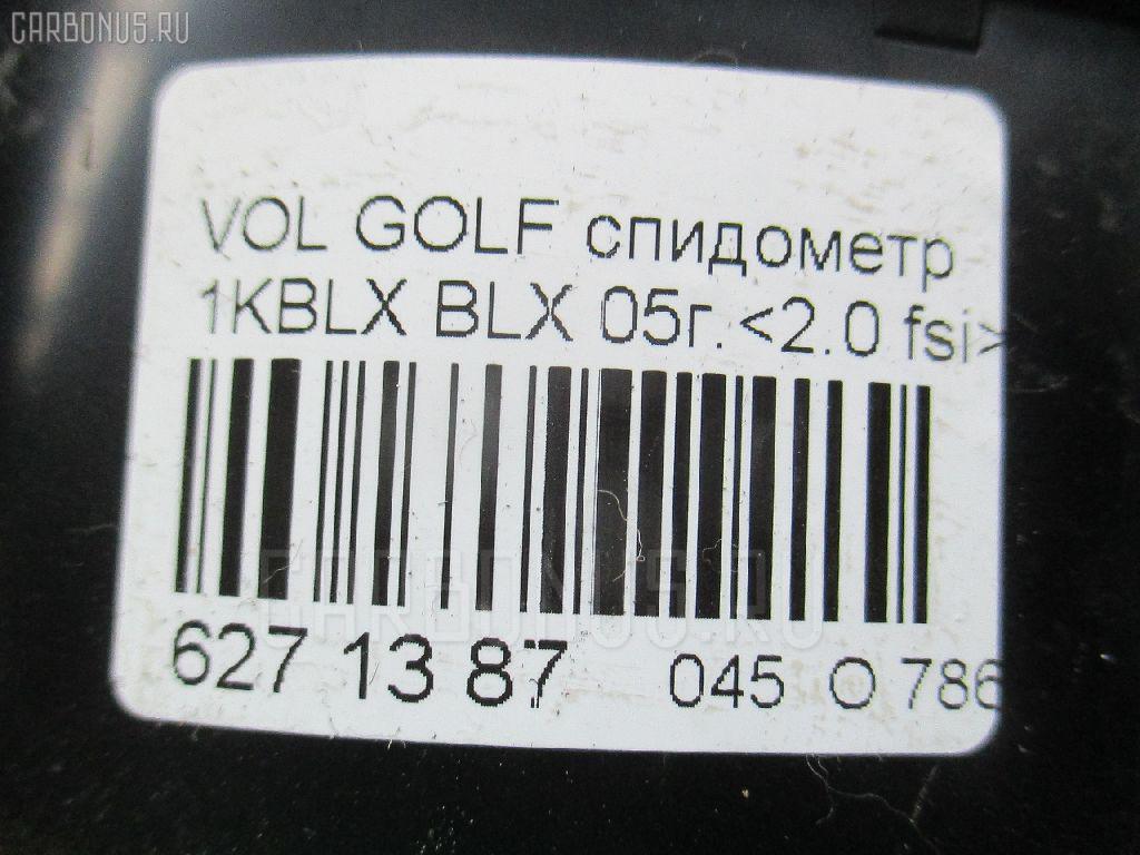 Спидометр VOLKSWAGEN GOLF V 1KBLX BLX Фото 3