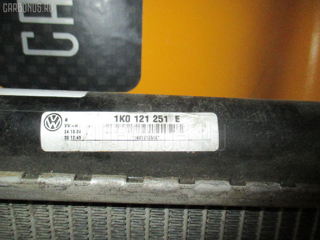 Радиатор ДВС VOLKSWAGEN GOLF V 1KBLX BLX Фото 2