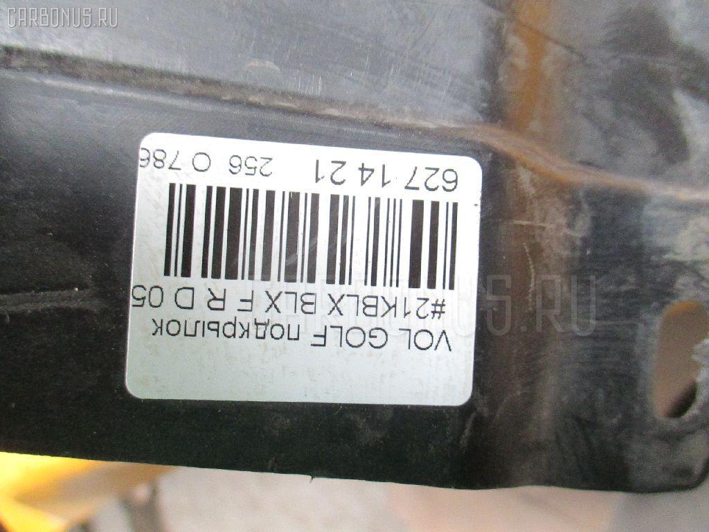 Подкрылок VOLKSWAGEN GOLF V 1KBLX BLX Фото 4