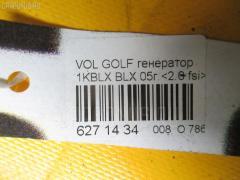 Генератор Volkswagen Golf v 1KBLX BLX Фото 3