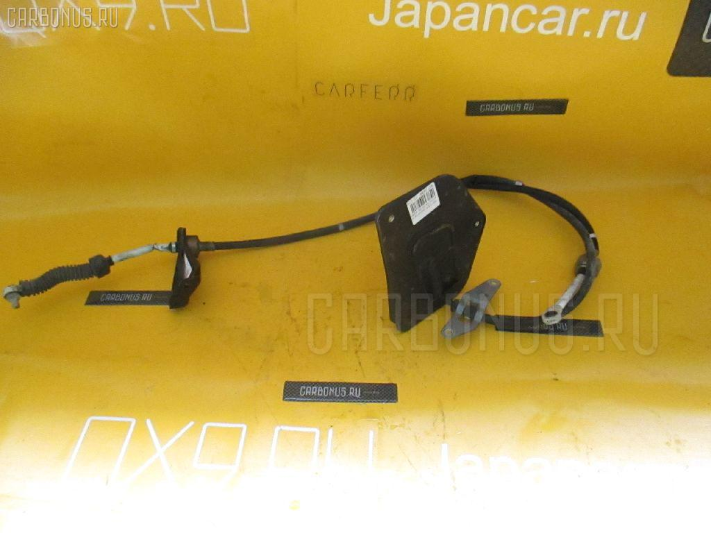 Тросик на коробку передач TOYOTA CARINA AT212 5A-FE. Фото 2