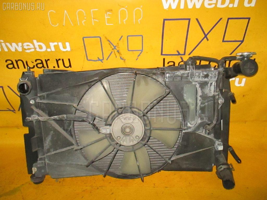 Радиатор ДВС TOYOTA COROLLA SPACIO NZE121N 1NZ-FE. Фото 8
