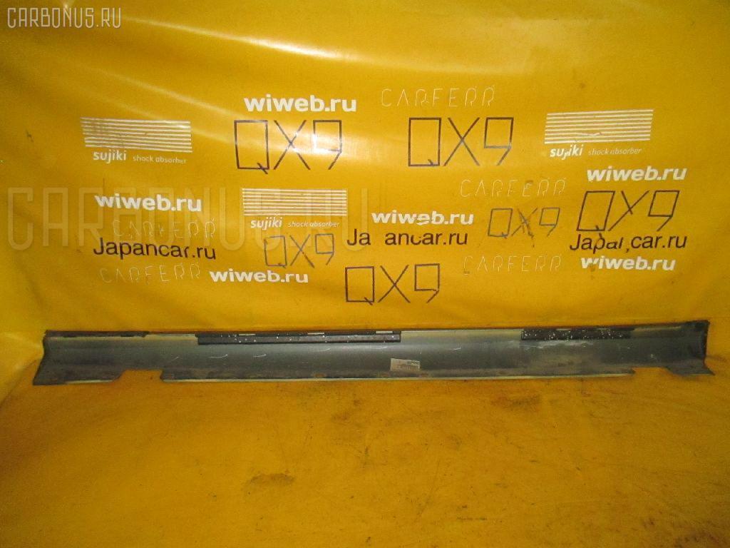 Порог кузова пластиковый ( обвес ) MERCEDES-BENZ E-CLASS W211.070. Фото 2