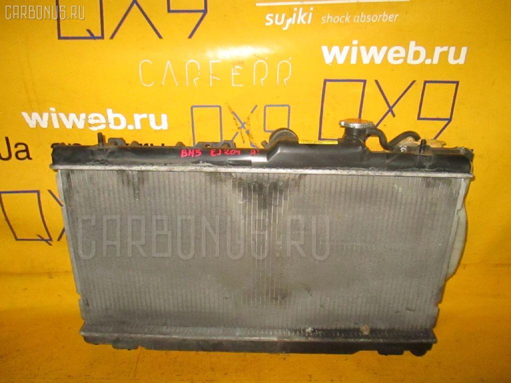 Радиатор ДВС SUBARU LEGACY WAGON BH5 EJ204. Фото 6