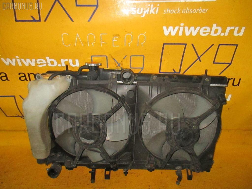 Радиатор ДВС SUBARU LEGACY WAGON BH5 EJ204. Фото 7
