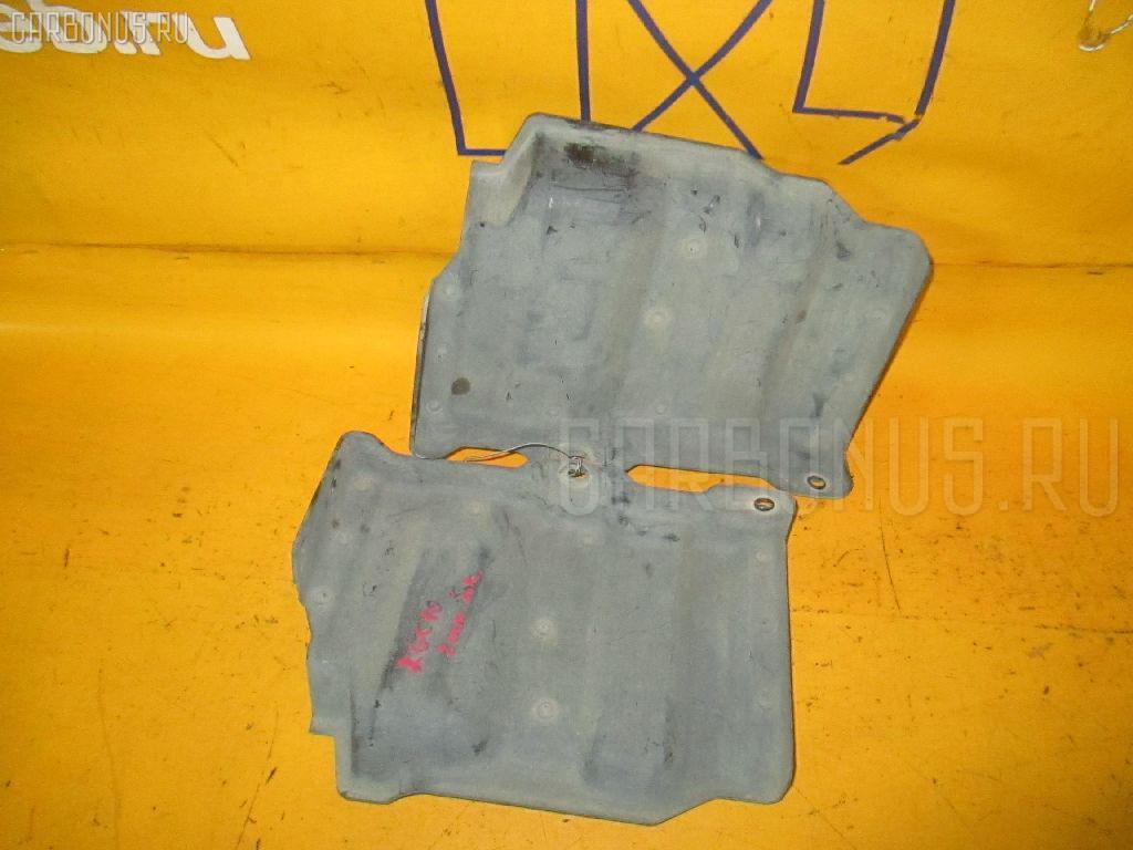 Защита двигателя TOYOTA PASSO KGC10 1KR-FE. Фото 2