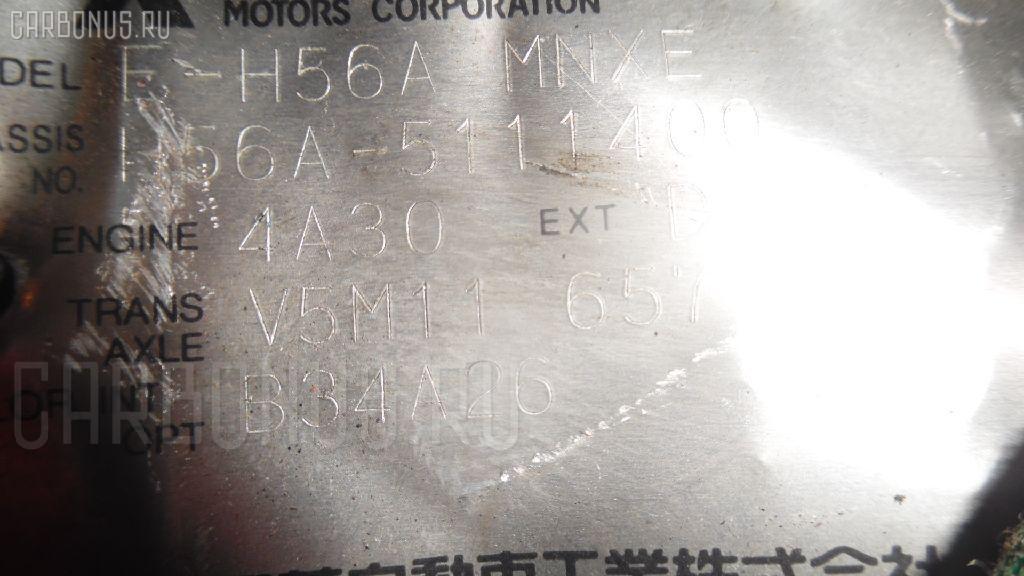 КПП механическая MITSUBISHI PAJERO MINI H56A 4A30. Фото 6