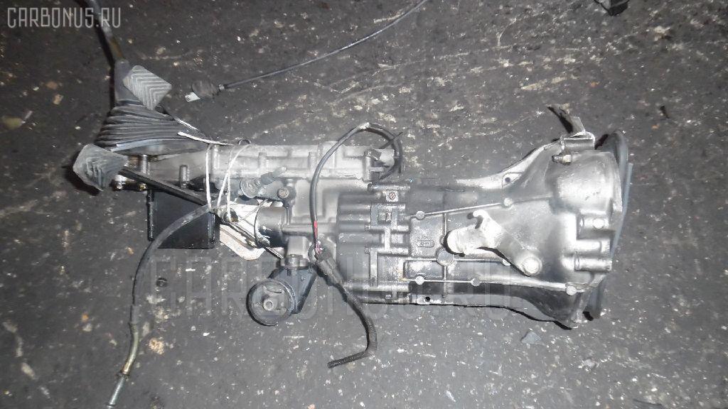 КПП механическая MITSUBISHI PAJERO MINI H56A 4A30. Фото 7