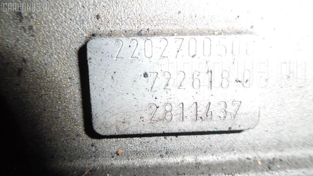 КПП автоматическая MERCEDES-BENZ E-CLASS STATION WAGON S210.265 112.941 Фото 4