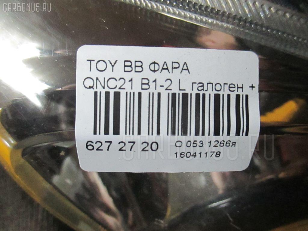 Фара TOYOTA BB QNC21 Фото 3