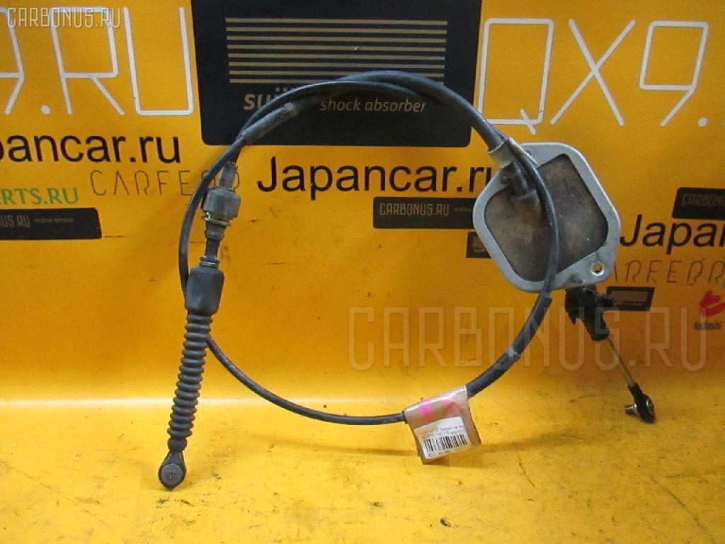 Тросик на коробку передач TOYOTA VITZ SCP10 1SZ-FE. Фото 4