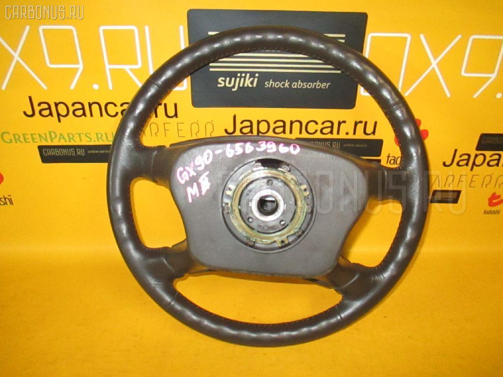 Руль TOYOTA MARK II GX90. Фото 3