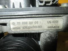 Дроссельная заслонка MERCEDES-BENZ SLK-CLASS R170.447 111.973 Фото 1