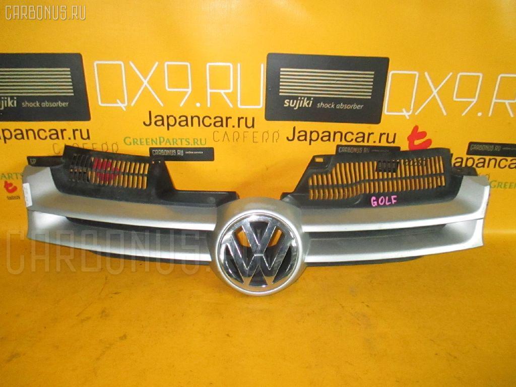 Решетка радиатора VOLKSWAGEN GOLF V 1KBLX. Фото 6