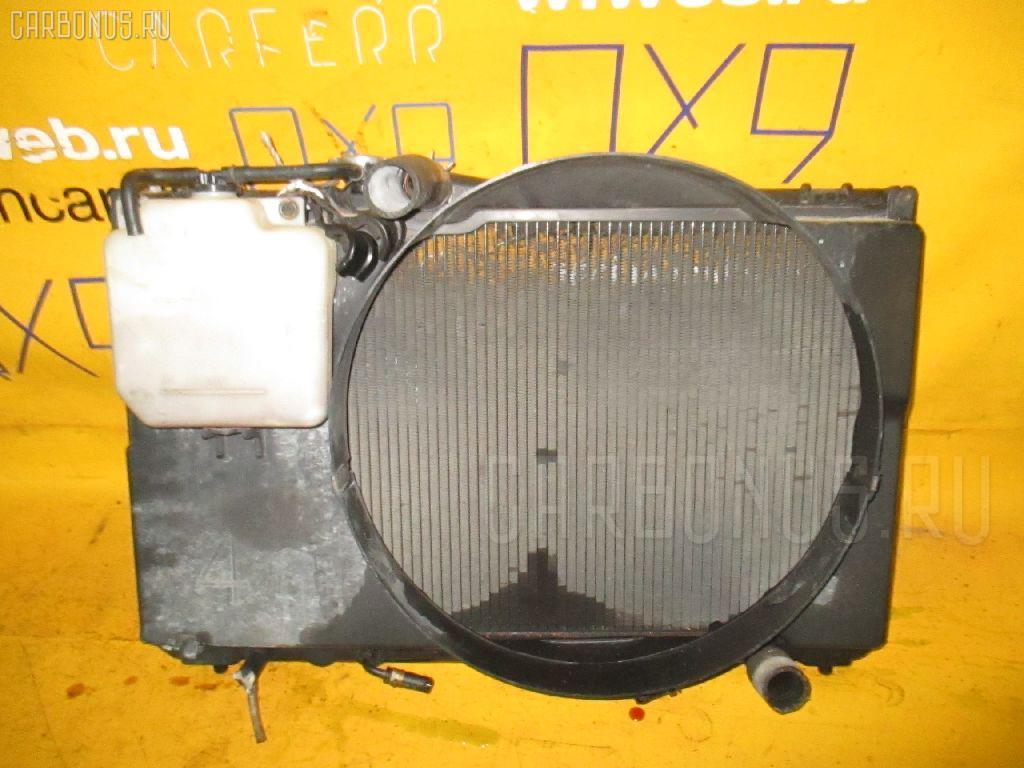 Радиатор ДВС TOYOTA CRESTA GX90 1G-FE. Фото 5