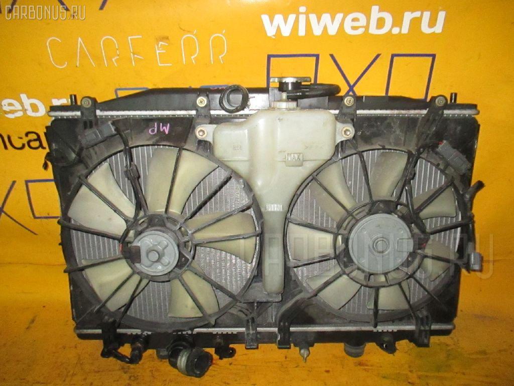 Радиатор ДВС HONDA ACCORD WAGON CM2 K24A. Фото 11
