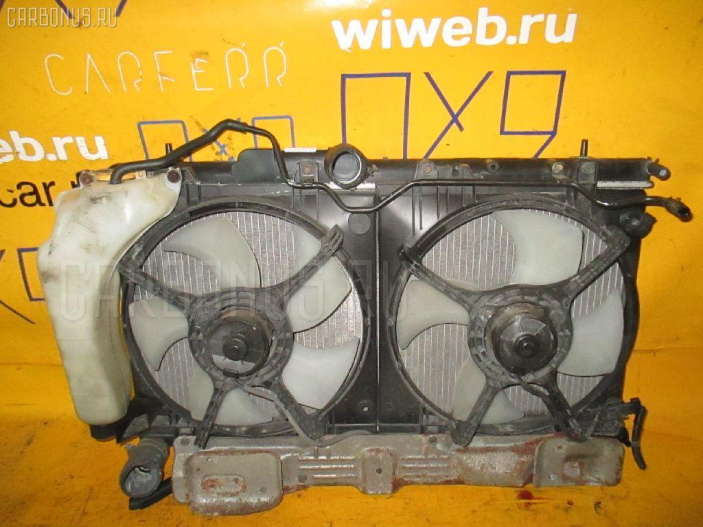 Радиатор ДВС SUBARU LEGACY WAGON BH5 EJ206. Фото 8