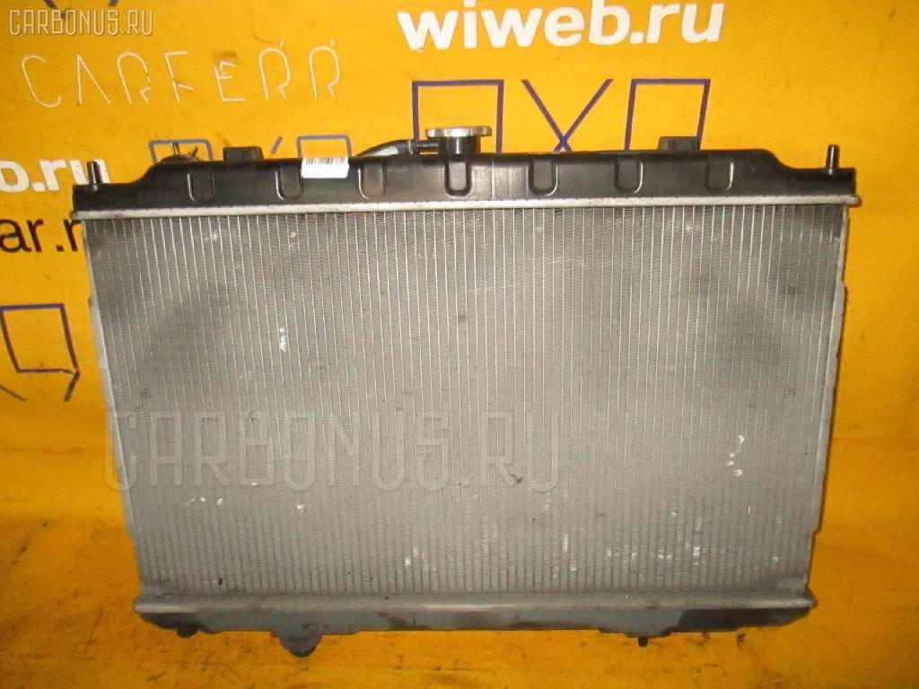 Радиатор ДВС NISSAN TINO HV10 SR20DE. Фото 8