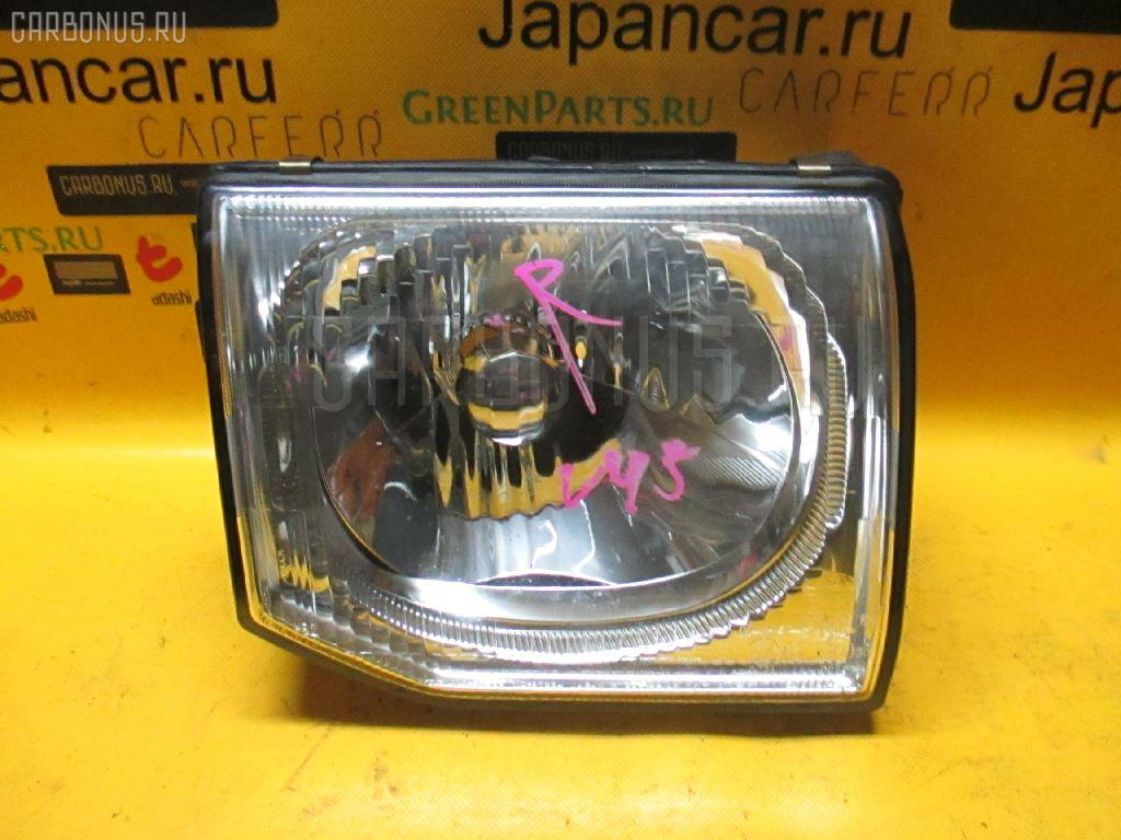 Фара MITSUBISHI PAJERO V45W Фото 1