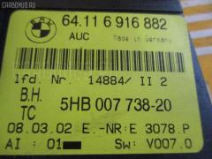 Блок управления климатконтроля Bmw 3-series E46-AT52 N42B18A Фото 2