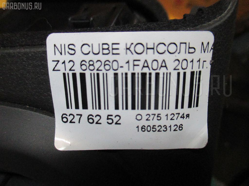 Консоль магнитофона NISSAN CUBE Z12 Фото 3