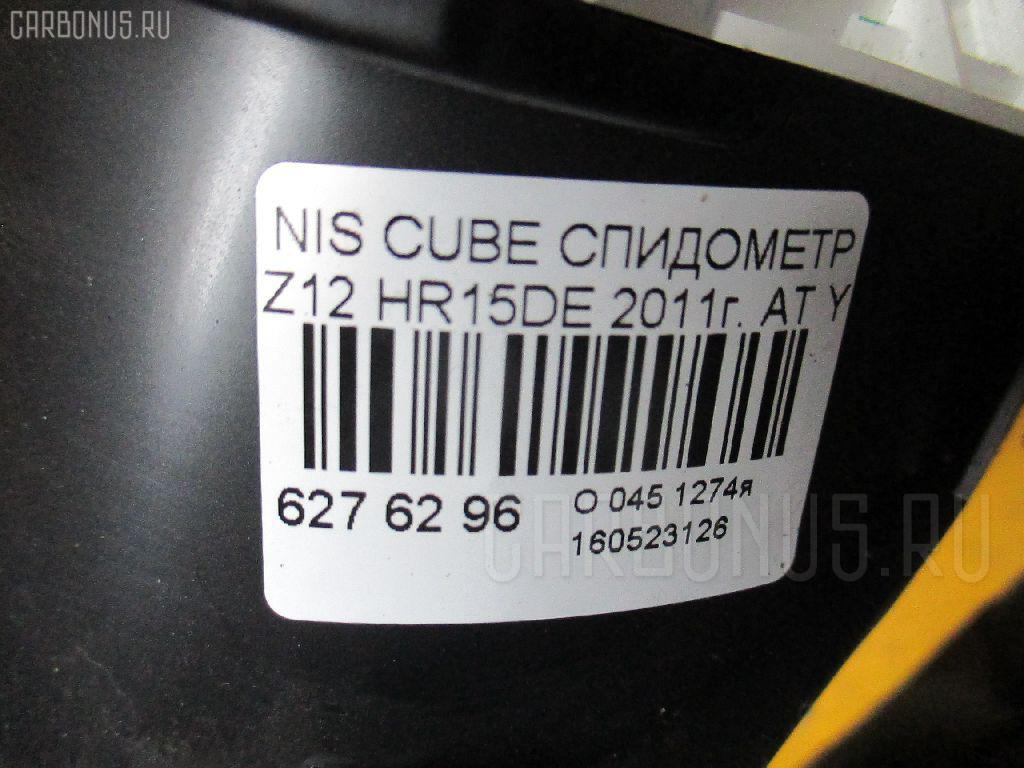 Спидометр NISSAN CUBE Z12 HR15DE Фото 3