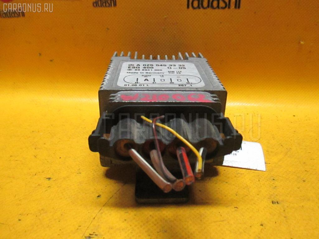 Блок управления вентилятором MERCEDES-BENZ E-CLASS W210.062 112.914 Фото 2