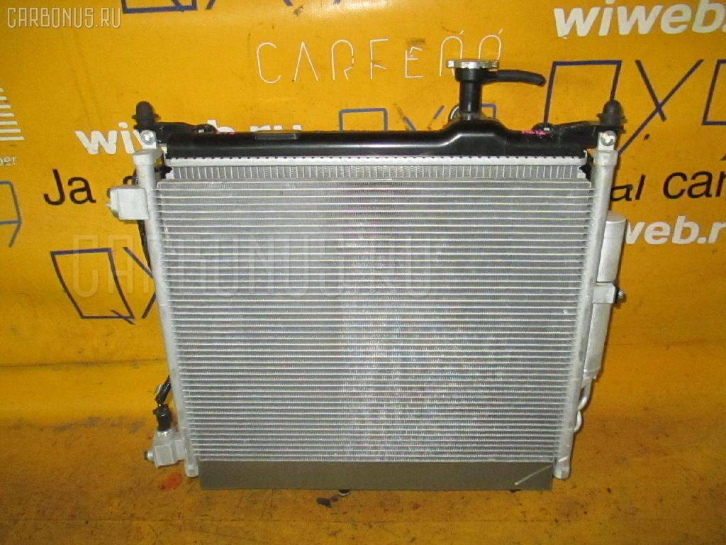 Радиатор ДВС NISSAN NOTE E12 HR12DDR Фото 2