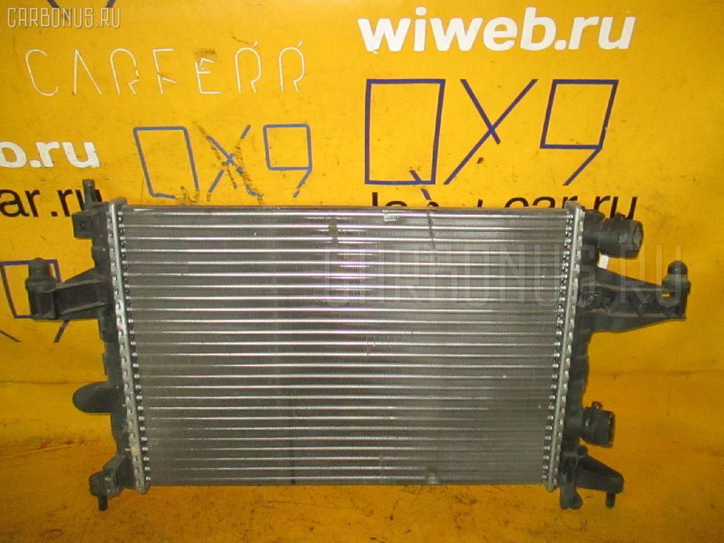 Радиатор ДВС OPEL VITA W0L0XCF68 Z12XE Фото 1