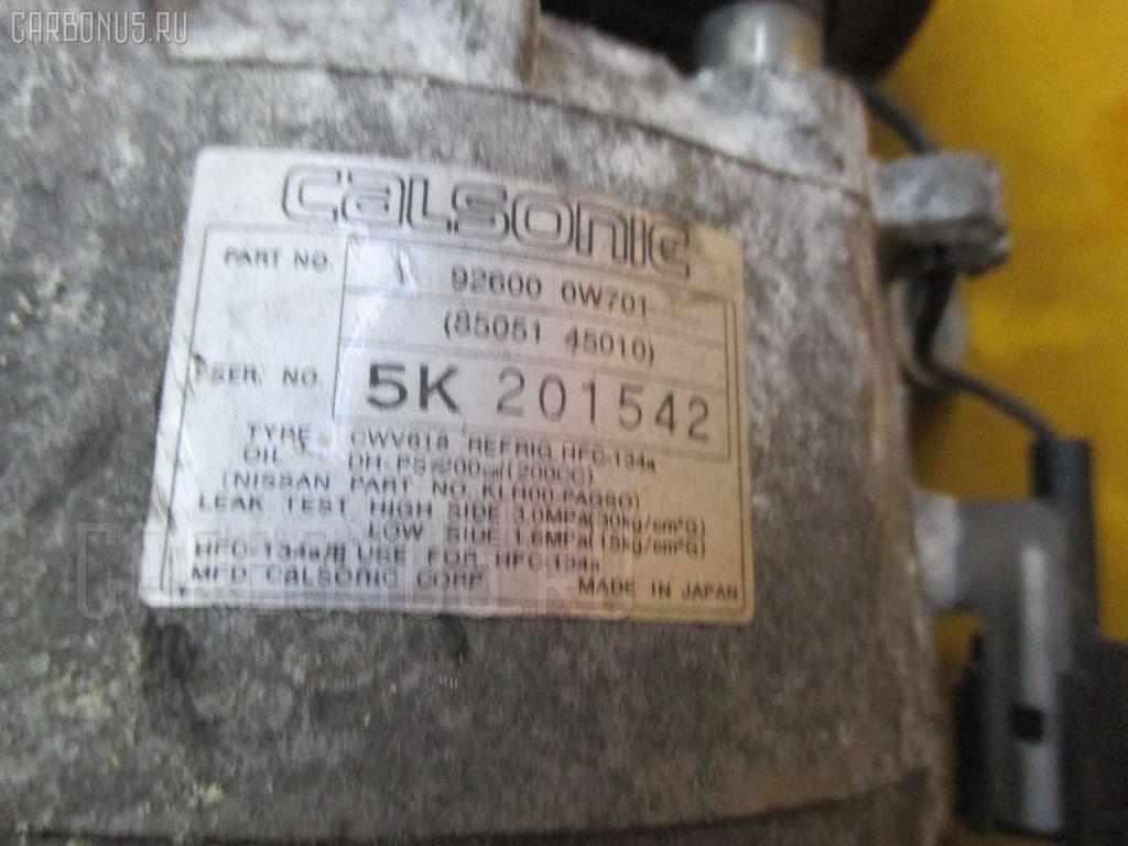 Компрессор кондиционера NISSAN TERRANO LR50 VG33E. Фото 11