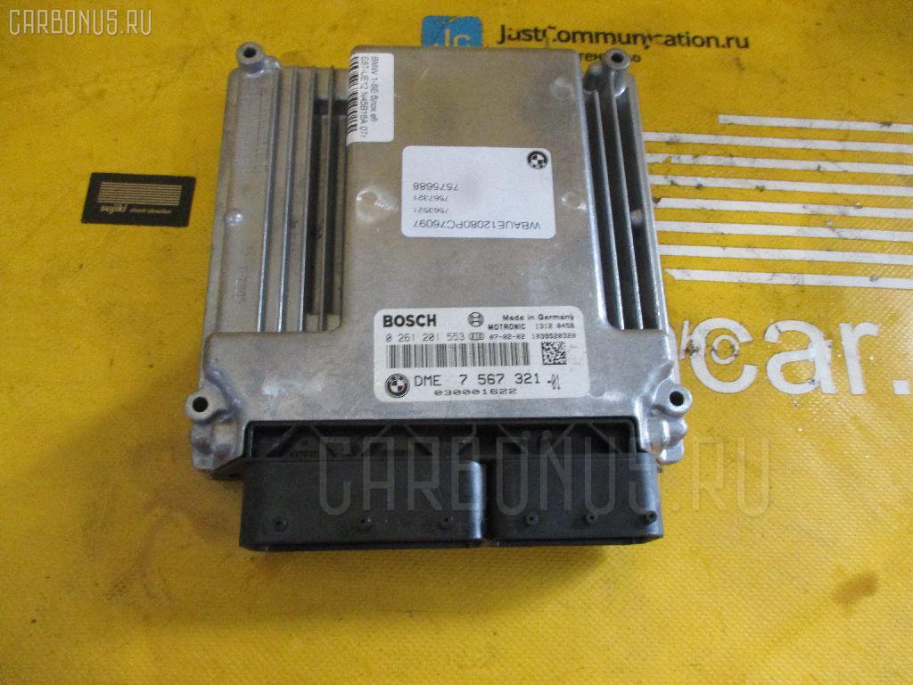 Блок EFI BMW 1-SERIES E87-UE12 N45B16A Фото 1