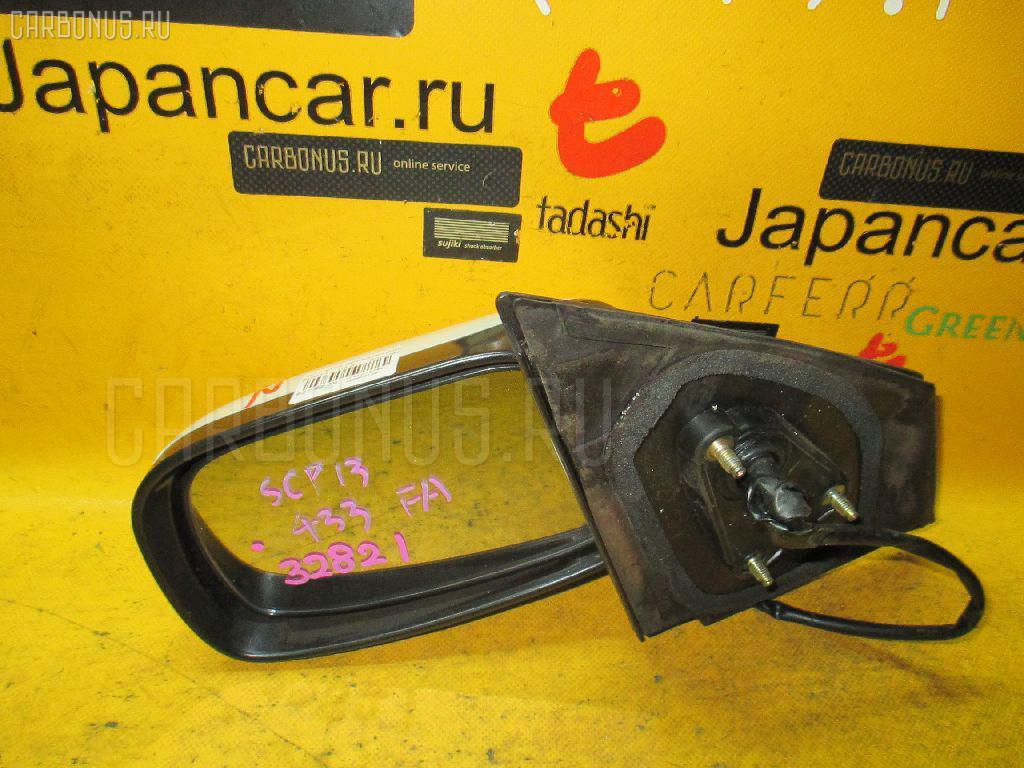 Зеркало двери боковой TOYOTA VITZ SCP13. Фото 6