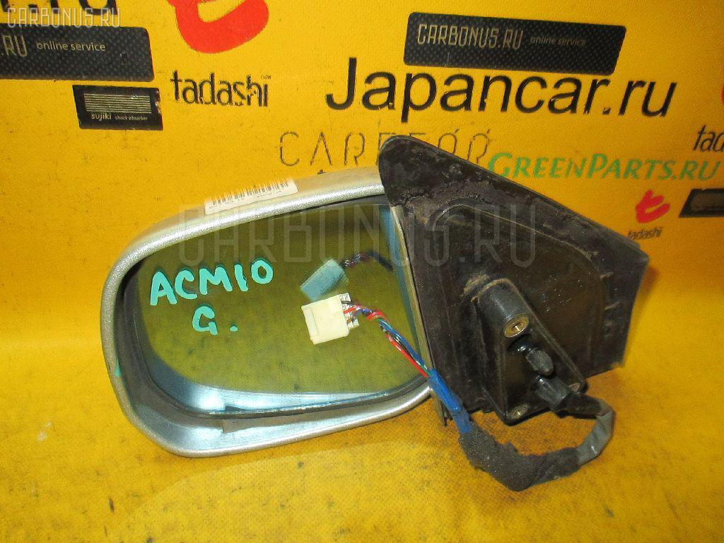 Зеркало двери боковой TOYOTA GAIA ACM10G. Фото 10