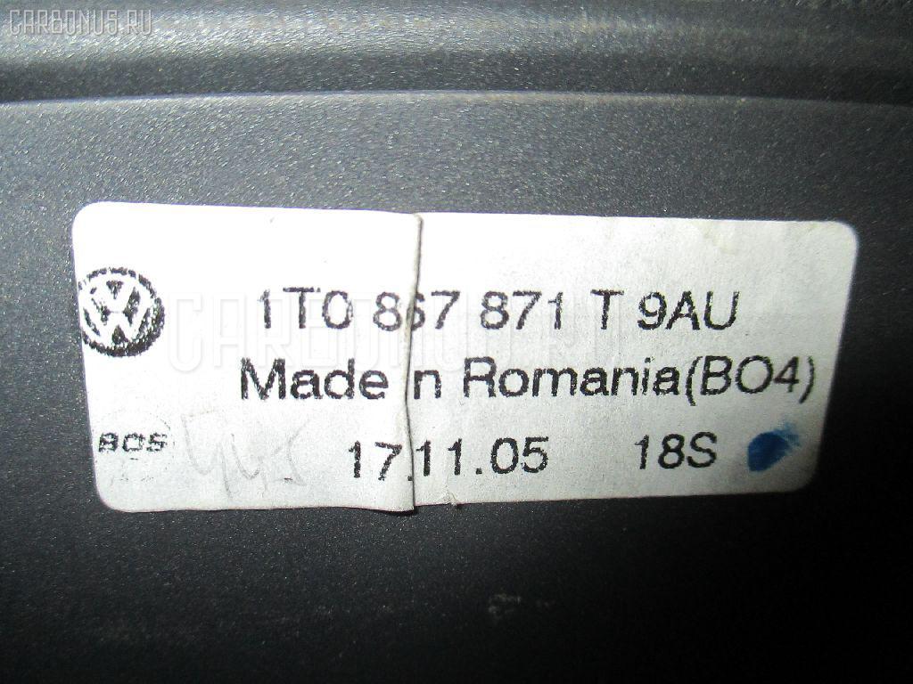 Шторка багажника Volkswagen Touran 1TBLX Фото 1