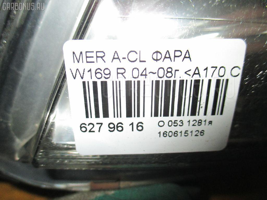 Фара MERCEDES-BENZ A-CLASS W169.032 Фото 4