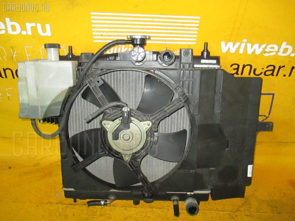 Радиатор ДВС NISSAN MARCH K12 CR10DE. Фото 3