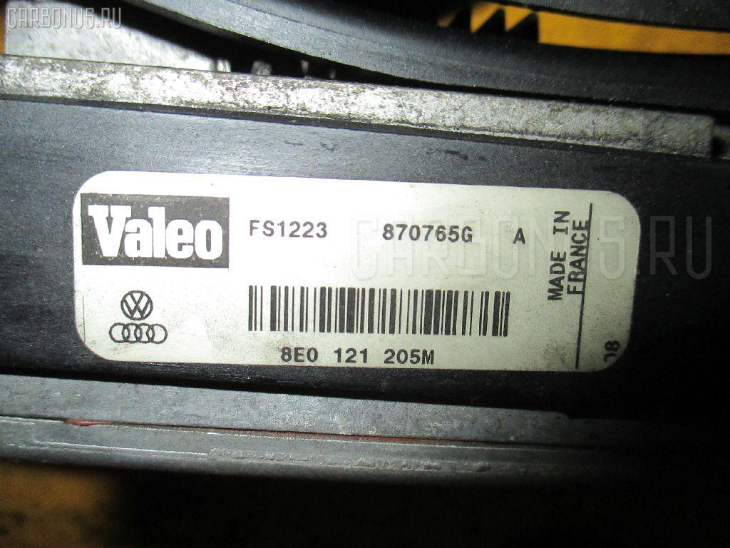 Вентилятор радиатора ДВС AUDI A4 8EALT ALT. Фото 3