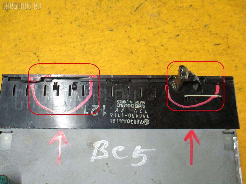 Блок управления климатконтроля SUBARU LEGACY BC5 EJ20 Фото 1