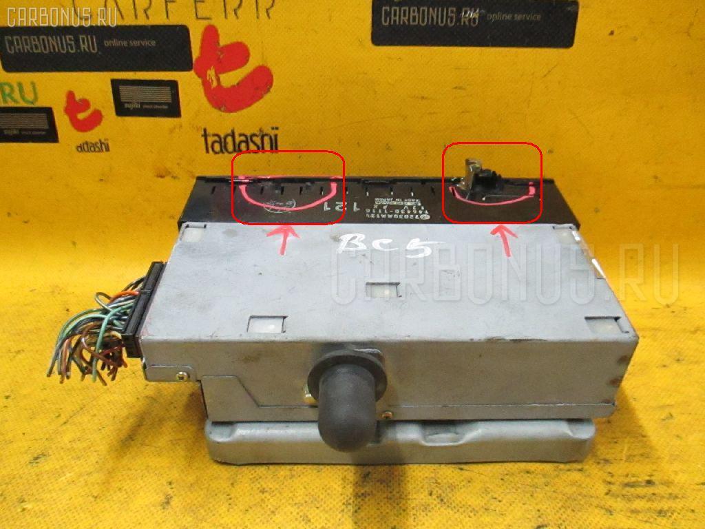 Блок управления климатконтроля SUBARU LEGACY BC5 EJ20 Фото 3