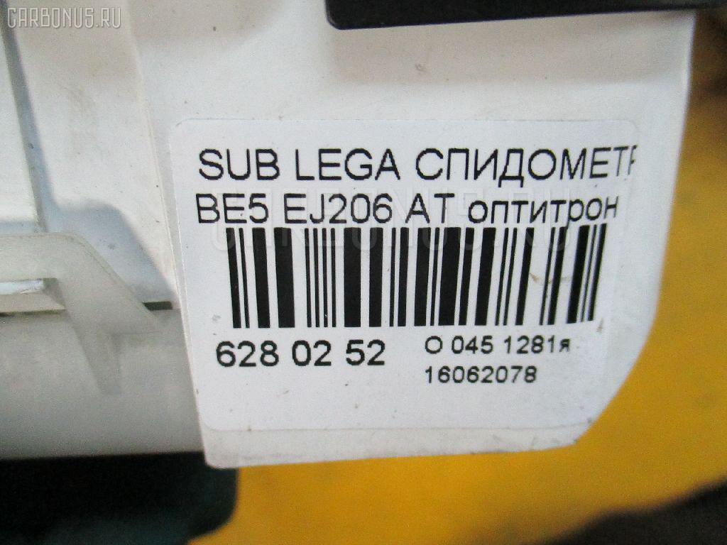 Спидометр SUBARU LEGACY B4 BE5 EJ206 Фото 3