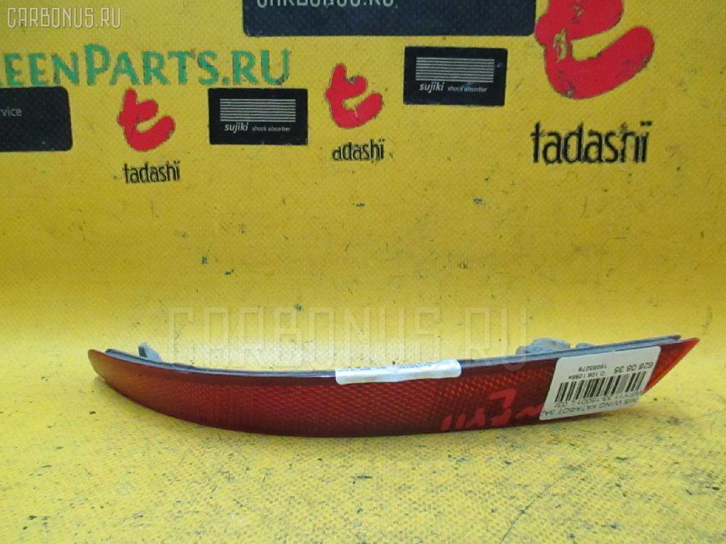 Катафот заднего бампера NISSAN WINGROAD WFY11. Фото 11