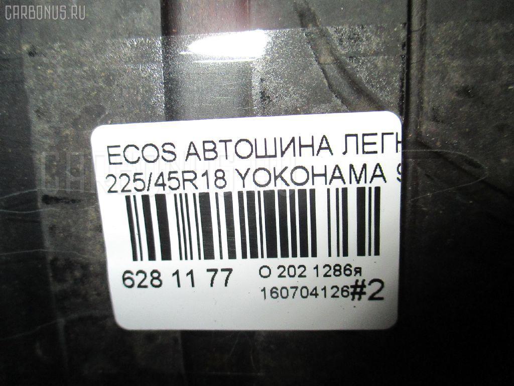 Автошина легковая летняя ECOS ES300 255/45R18 YOKOHAMA Фото 4
