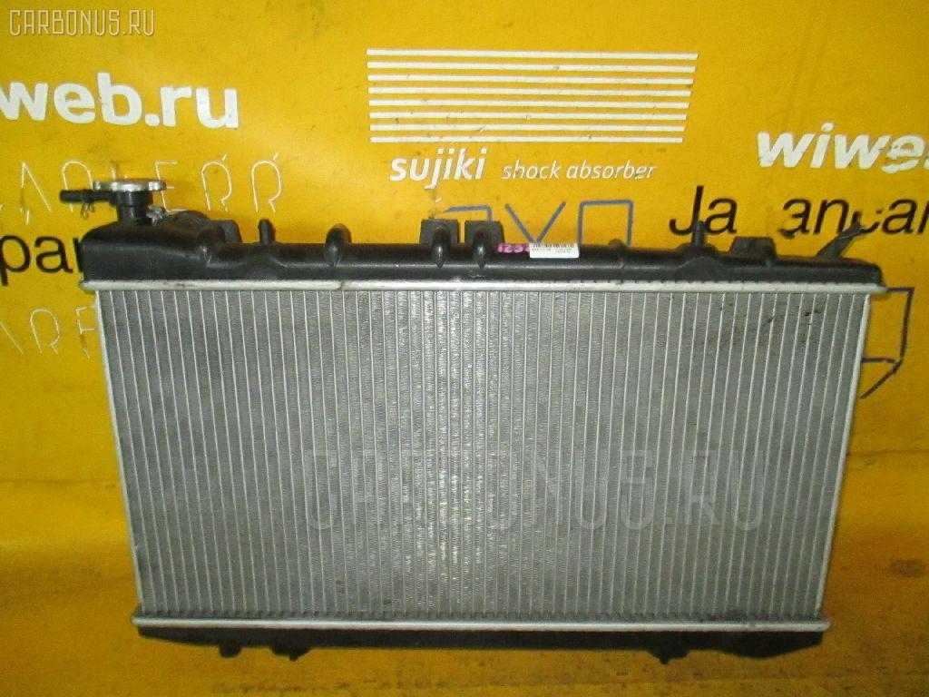Радиатор ДВС NISSAN WINGROAD WHNY10 SR18DE. Фото 1