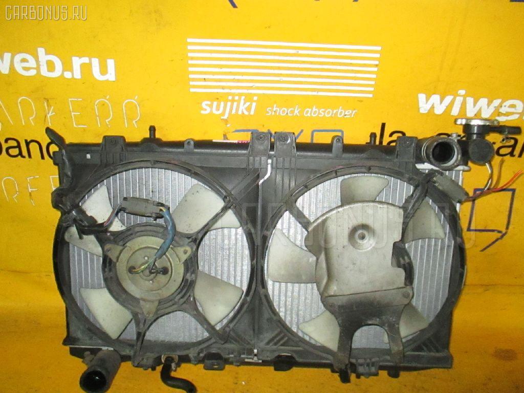 Радиатор ДВС NISSAN WINGROAD WHNY10 SR18DE. Фото 2