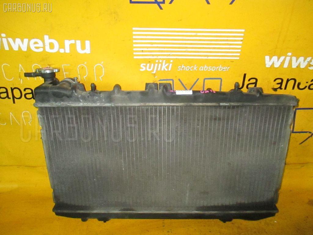 Радиатор ДВС NISSAN SUNNY FNB14 GA15DE. Фото 4