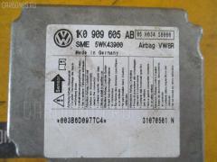 Блок управления air bag Volkswagen Golf v 1KBLG BLG Фото 1