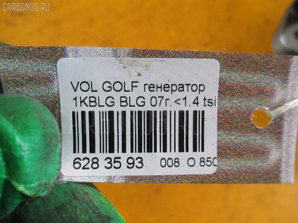 Генератор VOLKSWAGEN GOLF V 1KBLG BLG Фото 4